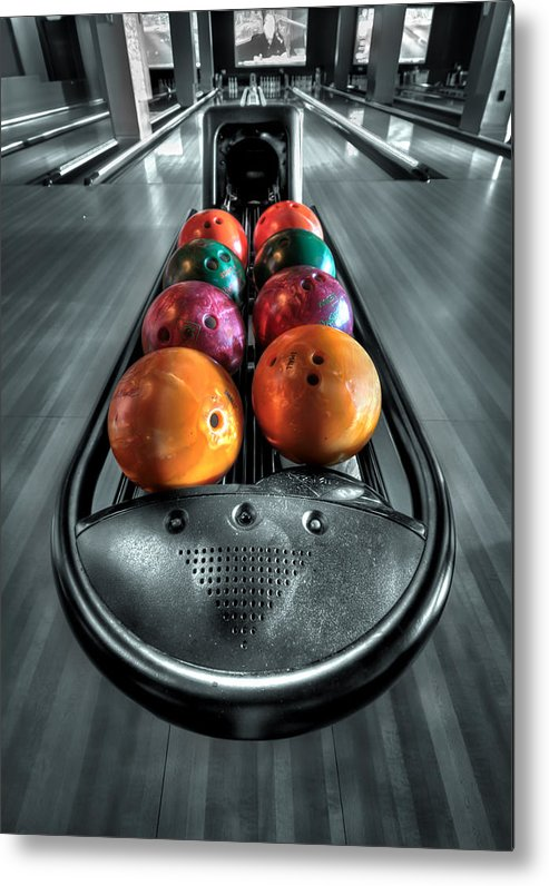 Bowl Metal Print featuring the photograph Let The Good Times Roll by Evelina Kremsdorf