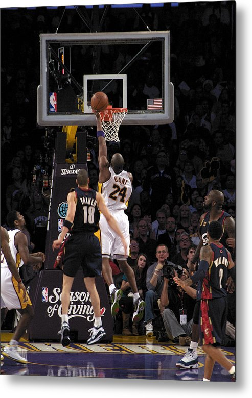 People Metal Print featuring the photograph Kobe by Marc Bittan
