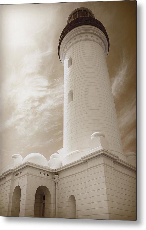 Alarm Metal Print featuring the photograph Lighthouse by Han Van Vonno