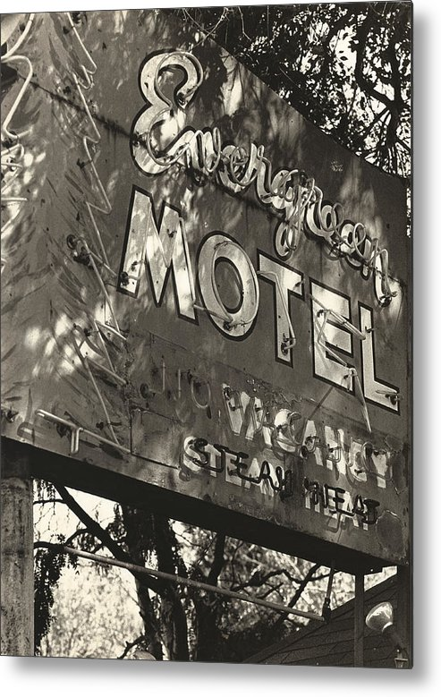 1950s Metal Print featuring the photograph The Evergreen On Santa Fe by Jim Furrer