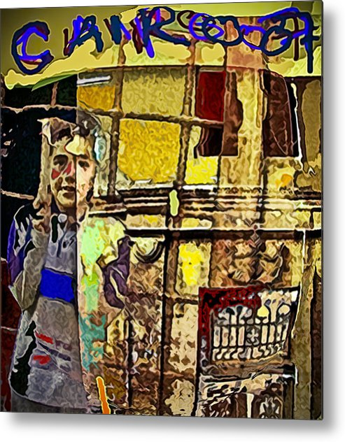 Cairo Metal Print featuring the painting Cairo 07 by Noredin Morgan