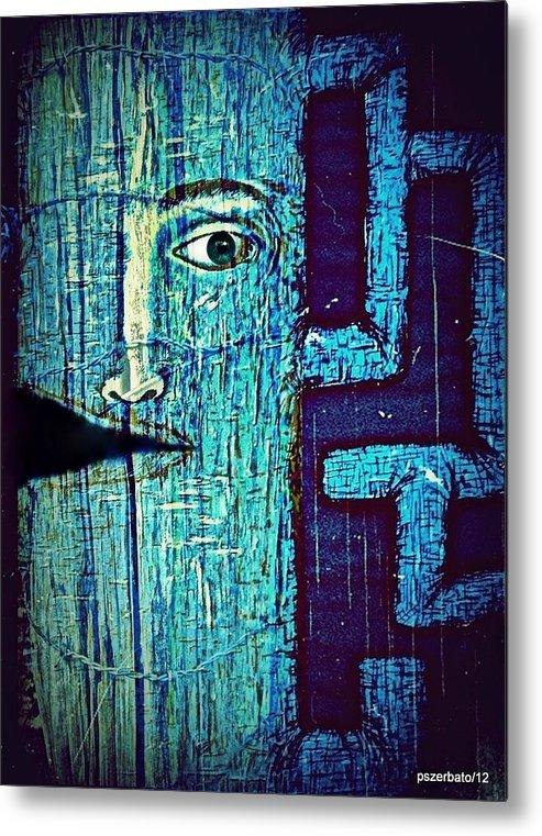 Cut Metal Print featuring the digital art Deep Cut by Paulo Zerbato