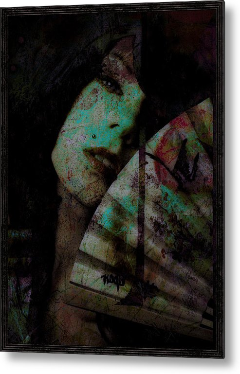 Asian Metal Print featuring the photograph Jade by Adam Kissel