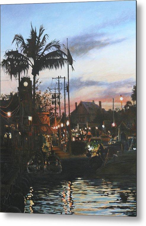 Key West Metal Print featuring the painting Key West by David McEwen