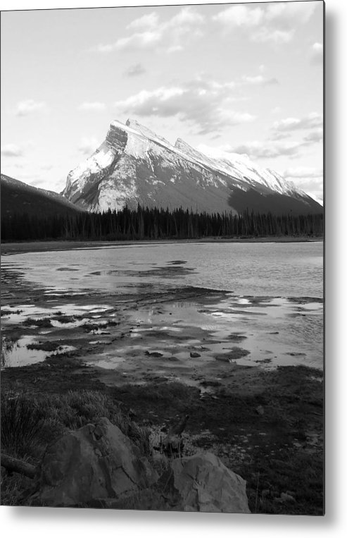 Rocky Mountains Metal Print featuring the photograph Rundell by Tiffany Vest