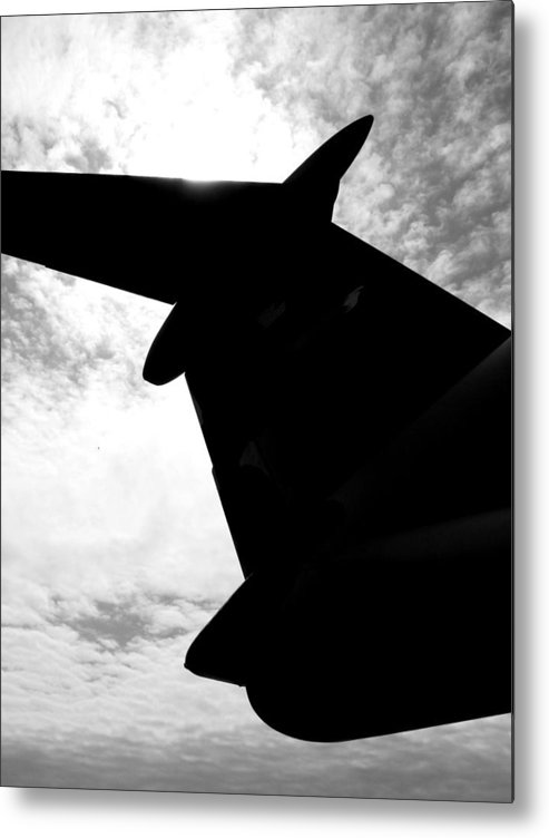 C-5 Metal Print featuring the photograph C-5 Galaxy by Chaz McDowell