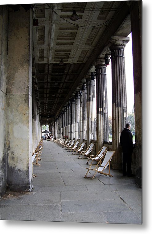 Museumsinsel Metal Print featuring the photograph Museumsinsel by Flavia Westerwelle