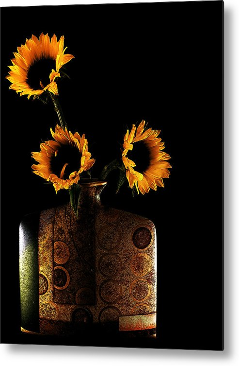 Sunflower Metal Print featuring the photograph Sunflower Galore by Lucian Badea