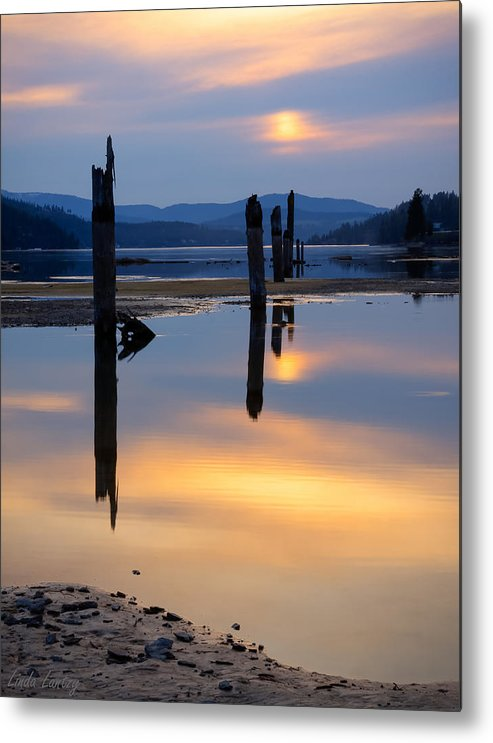 Moody Metal Print featuring the photograph Mood On The Bay by Idaho Scenic Images Linda Lantzy