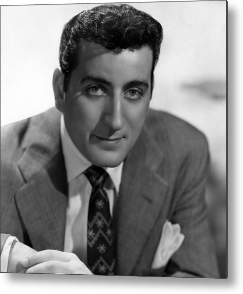 1950s Portraits Metal Print featuring the photograph Tony Bennett, C. 1952 by Everett