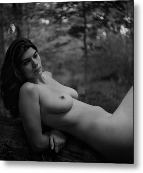 Nude Metal Print featuring the photograph Nude In Nature 3 by Joshua Macneil