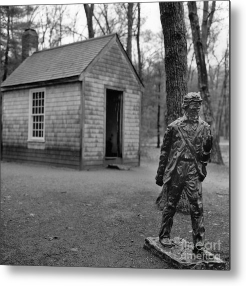 Thoreau Metal Print featuring the photograph Walden by Arvind Garg