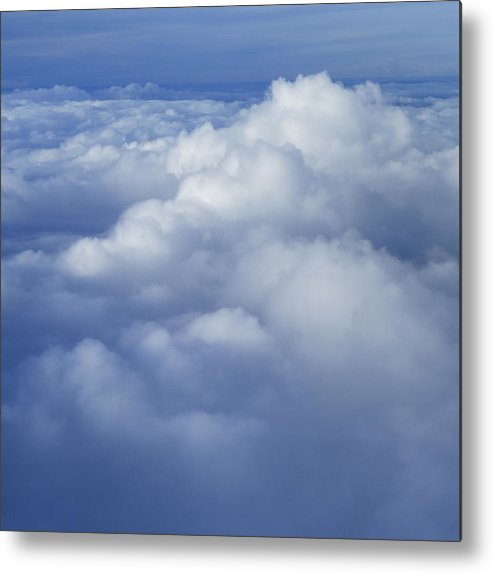 Clouds Metal Print featuring the photograph Cloud Hill by Christian Halili
