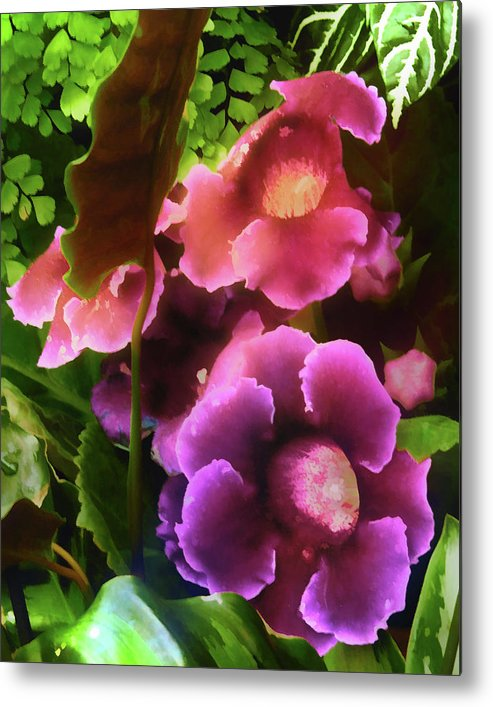 Flowers Metal Print featuring the photograph Spring Is Coming by Gina Cordova