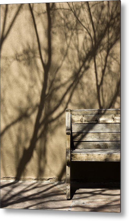 Photo Metal Print featuring the photograph Old Bench by Carmo Correia