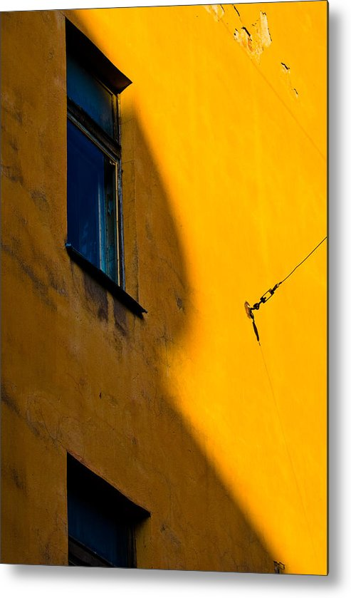 Wall Metal Print featuring the photograph R by Vadim Grabbe