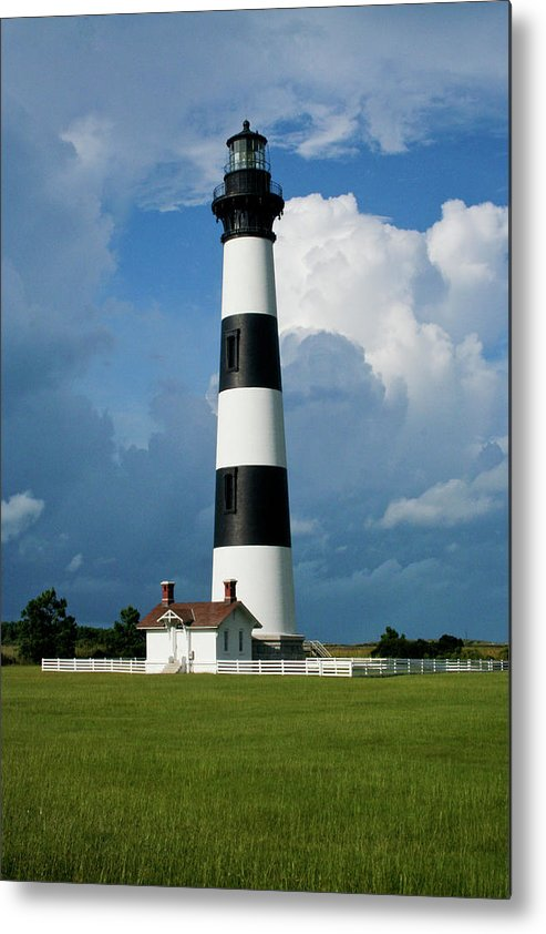 Bodie Island Metal Print featuring the photograph Standing Tall by Rob Narwid