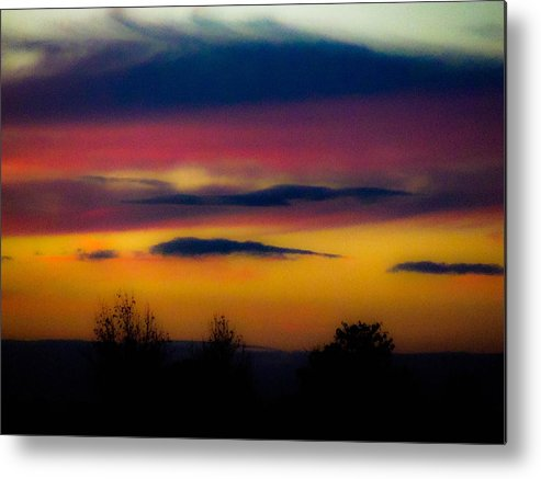 Sunsets Metal Print featuring the photograph Sunset Serenity by Joe Bledsoe