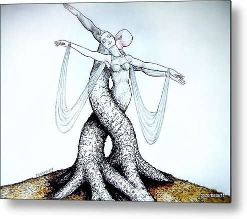 Adagio Of Life Metal Print featuring the digital art Adagio Of Life by Paulo Zerbato