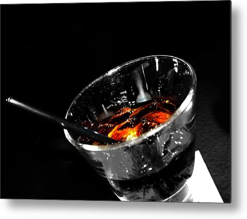 Elm Metal Print featuring the photograph Rye And Coke Please by The Artist Project