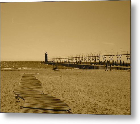 Lighthouse Metal Print featuring the photograph Untitled by Moby Kane