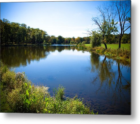 New Jersey Metal Print featuring the photograph Verona Park by Valerie Morrison