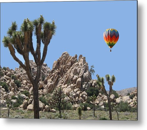 Joshua Metal Print featuring the digital art Joshua Landing by Gary Baird