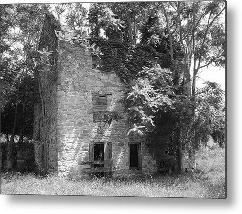Ruin Metal Print featuring the photograph Ancestral Home by Richard Marcus