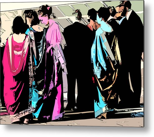 Wedding Metal Print featuring the photograph Anxiously Waiting by David Bearden