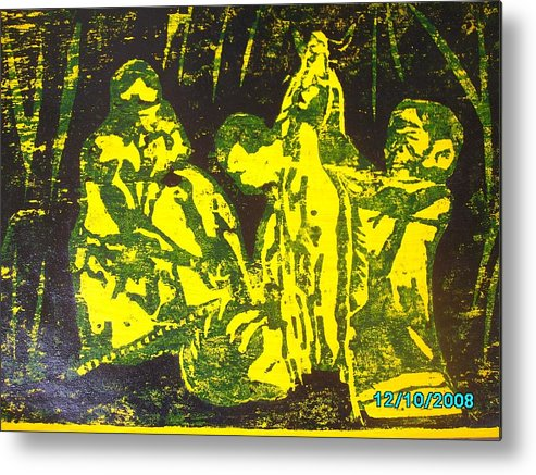 Festival Metal Print featuring the mixed media Argungun Festival 2 by Olaoluwa Smith