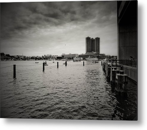 Baltimore Metal Print featuring the photograph Baltimore Harbor by Valerie Morrison