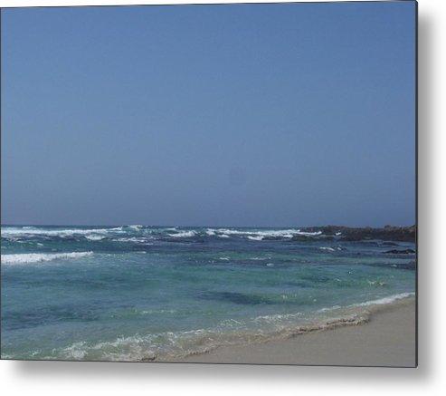 Ocean Metal Print featuring the photograph Beach 2 by Dawn Marie Black