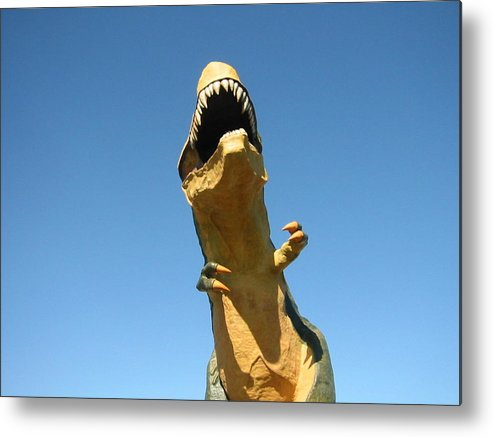 Dinosaur Metal Print featuring the photograph Believe It Or Not by Ming Yeung