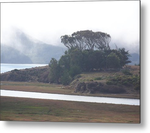 Waterscape Metal Print featuring the photograph Blue Mist by Maggie Cruser