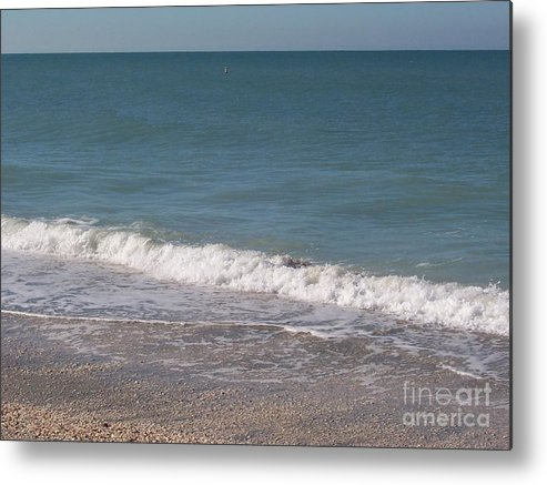 Beach Metal Print featuring the photograph Captiva by Elizabeth Klecker