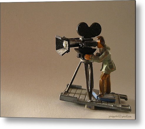 Toy Metal Print featuring the photograph Child's Dream by Gerard Yates