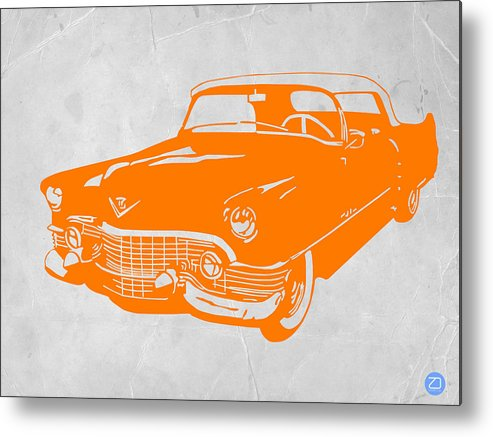 Chevy Metal Print featuring the drawing Classic Chevy by Naxart Studio