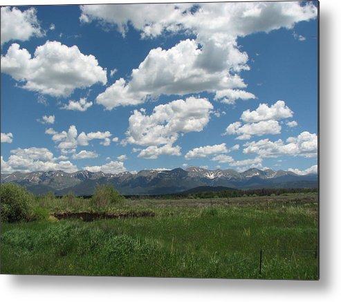 Colorado Metal Print featuring the photograph Colorado Ranch by April Camenisch