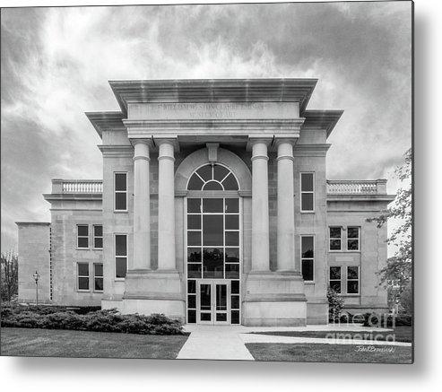 Depauw University Metal Print featuring the photograph De Pauw University Emison Building by University Icons