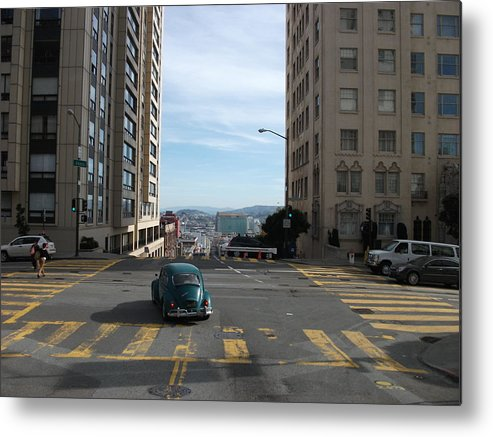 Down Hill Metal Print featuring the photograph Down Hill From Here by Joshua Sunday