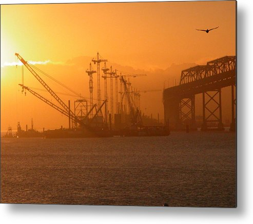 Sunrise Metal Print featuring the photograph Early Morning by Jerry Patchin