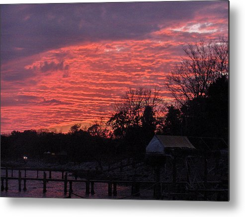 Sunset Metal Print featuring the photograph End Of Day by Nicole I Hamilton