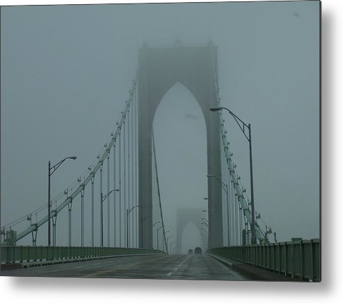 Newport Metal Print featuring the photograph Foggy Day by Jeff Porter