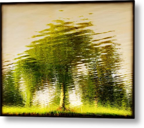 Abstract Metal Print featuring the photograph Gentle Sun by Dana DiPasquale