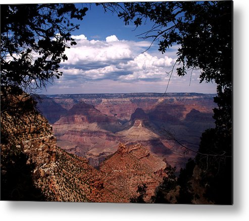 Grand Canyon Metal Print featuring the photograph Grand Canyon II by Linda Morland