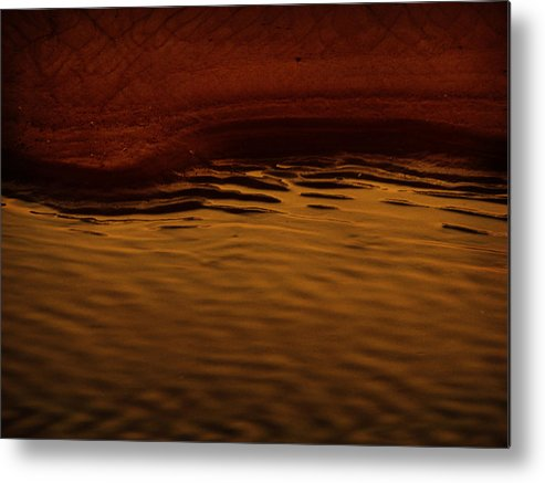 Abstract Metal Print featuring the photograph I Want To Wake Up Where You Are by Dana DiPasquale