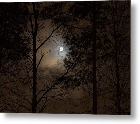 Lehtokukka Metal Print featuring the photograph Moonshine 05 by Jouko Lehto