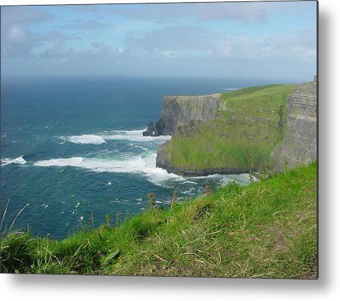 Cliffs Of Mohr Metal Print featuring the photograph Mystical Cliffs by PJ Cloud