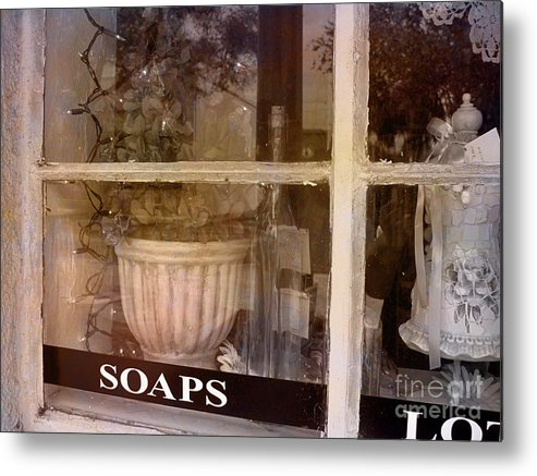 Retro Metal Print featuring the photograph Need Soaps by Susanne Van Hulst