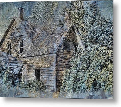 Tingy Metal Print featuring the photograph Painting The Past by Tingy Wende